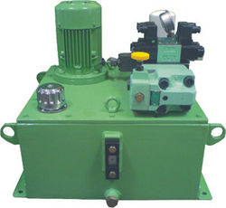 Hydraulic Power Packs, Press Cylinders, Machines.
