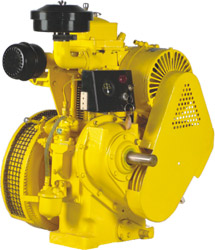 High Speed Air Cooled Electric Start Diesel Engine