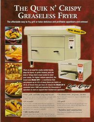 Regeneration Greseless Fryer