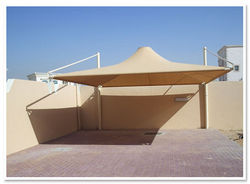 Cantilever Type Car Parking Sunshade