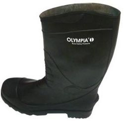 GUMBOOT STEEL TOE BLACK BRAND OLYMPIA