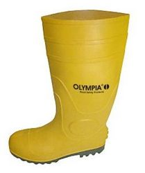 GUMBOOT STEEL TOE YELLOW BRAND OLYMPIA 