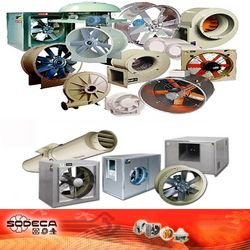 SODECA Ventilation & Fire Rated Fans
