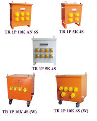 Site Transformer with Sockets & Breakers