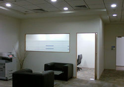 Gypsum Partition & False Ceiling works