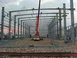 ERECTION OF HEAVY STEEL STRUCTURES