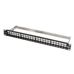PATCH PANEL UNLOADED - CAT6/CAT5E