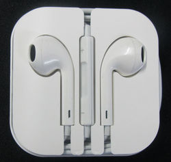 White Earphone Earbuds 3.5mm In-ear for iPhone