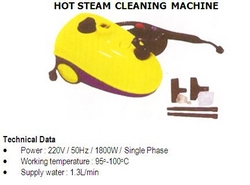Hot Steam Cleaning Machine