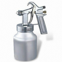 Spray Gun with Cup