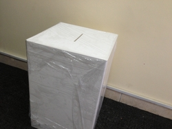 NON TRANSPARENT SUGGESTION BOX IN VARIOUS SIZES