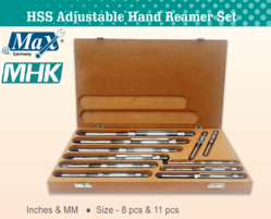 HSS Adjustable Hand Reamer Set