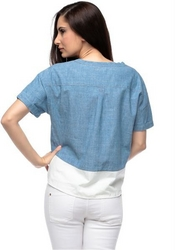 Levi's Loose Fit Short Sleeve Top For Women - XL,