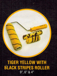 TOWER TIGER YELLOW WITH BLACK STRIPES ROLLER