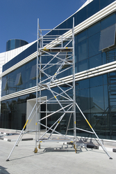 Stairway Mobile Tower Scaffolding In UAE