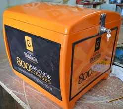 Motorcycle Delivery Boxes