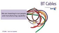BT Cables Industrial Supplier In UAE