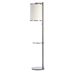 Hotel Floor Lamp with Table