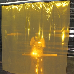 WELDING CURTAINS YELLOW