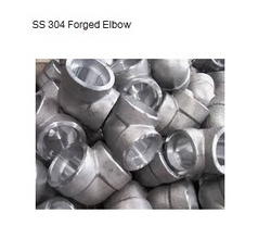 SS 304 Forged Elbow