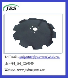 Notched Harrow Disc