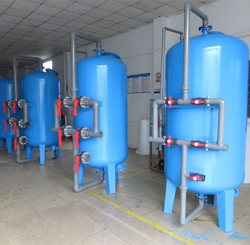 Carbon sand filter prices of water purifying