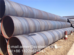 Welded piling pipe