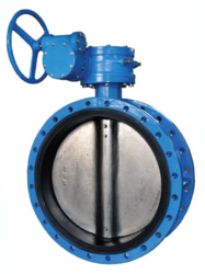 BUTTERFLY VALVE FLANGED TYPE