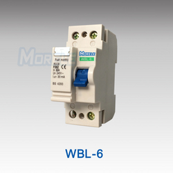 WBL-6 F360 type 2 pole f362 elcb