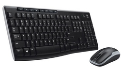 Wireless Keyboard & Mouse (Logitech-MK 270)