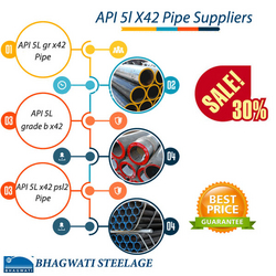 api 5l x42 pipe suppliers