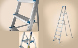 Platform Step Aluminium Ladder