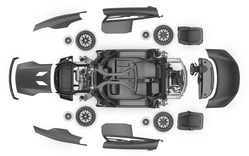 Rolls Royce and Mini Cooper Spare Parts