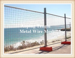 Tall Highway Fence Barrier/Galvanized Highway Guardrail