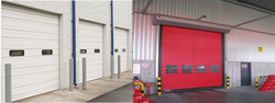 INDUSTRIAL ROLL UP DOORS AND HIGH SPEED PVC DOORS IN UAE