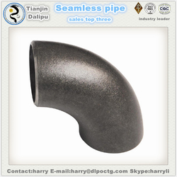 carbon steel pipe fitting flange fittings 90 Degree Elbow