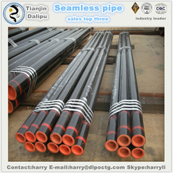 high quality used seamless steel pipe for borewell pipe