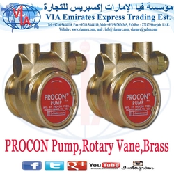 PROCON Pump,Rotary Vane,Brass in UAE