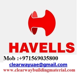 HAVELLS PRODUCTS DEALER IN MUSAFFAH , ABUDHABI , UAE