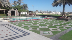 Artificial Grass and Tiling