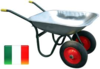 EXTRA HEAVY DUTY WHEEL BARROW TWO TYRE