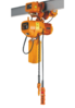 Electric Chain Hoist With Integrated Trolley