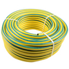 heavy duty hose pipe yellow with green line