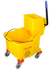 single bucket trolley with wringer