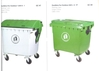 Dustbin For Outdoor 1100 L