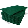 scouring pad green
