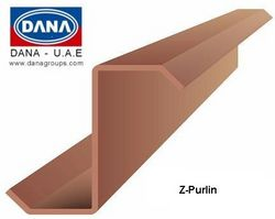 DANA COLD FORMED STRUCTURAL Z PURLIN  from DANA GROUP UAE-OMAN-SAUDI [WWW.DANAGROUPS.COM]