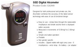 ALCOMETER DIGITAL ALCOMETER from GULF SAFETY EQUIPS TRADING LLC