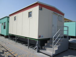 Ablution cabin for hire in UAE. from RTS CONSTRUCTION EQUIPMENT RENTAL