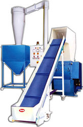 Granulator with Conveyor Blower & Silo from PIONEER MANUFACTURING CORPORATION